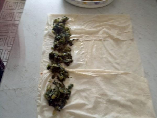 Börek mit Mangold - Pazılı Börek