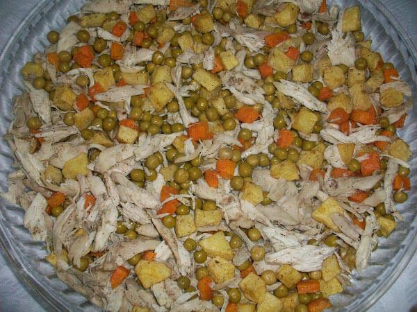 Hähnchen mit Gemüse - Fırında Sebzeli Tavuk