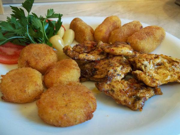 Hähnchen mit Soße - Soslu Tavuk
