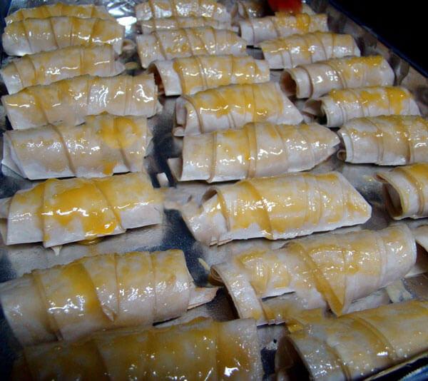 Knusprige Börek mit Kartoffel - Patatesli Çıtır Börek