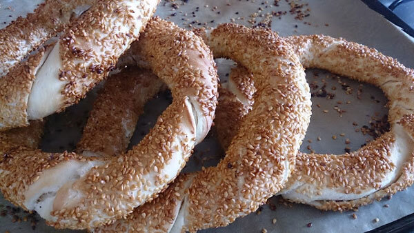 Photo of Sesamringe mit Tahini – Tahinli Simit