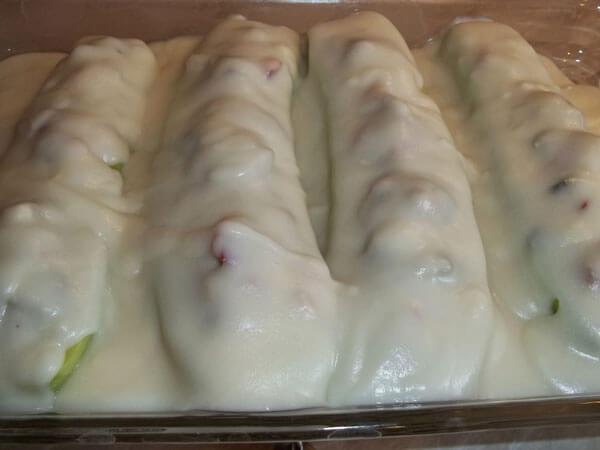 Zucchini mit Auberginen - Patlıcanlı Kabak