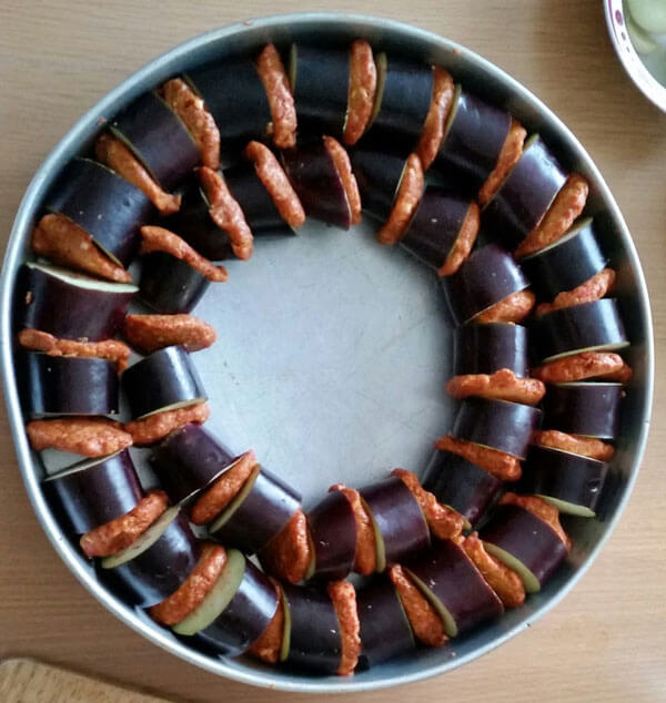 Auberginen Kebab - Leziz Patlıcan Kebabı
