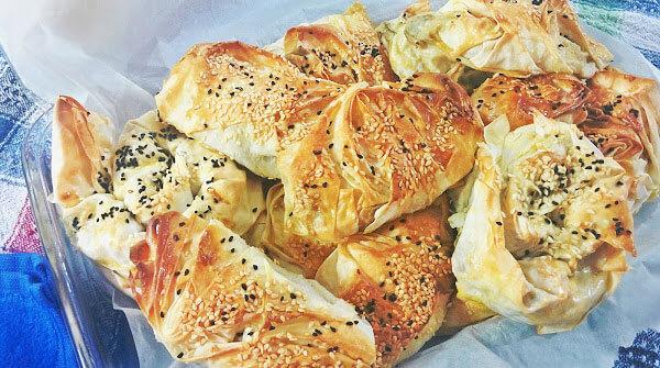 Börek mit Auberginen - Pratik Patlıcanlı Börek