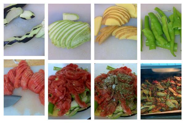 Reis mit Gemüsen - Sebzeli Pilav