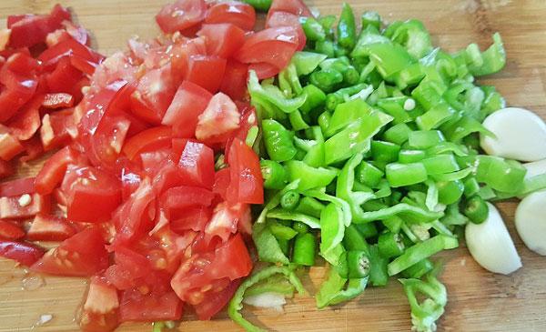Auberginen mit Olivenöl - Pratik Zeytinyağlı Patlıcan