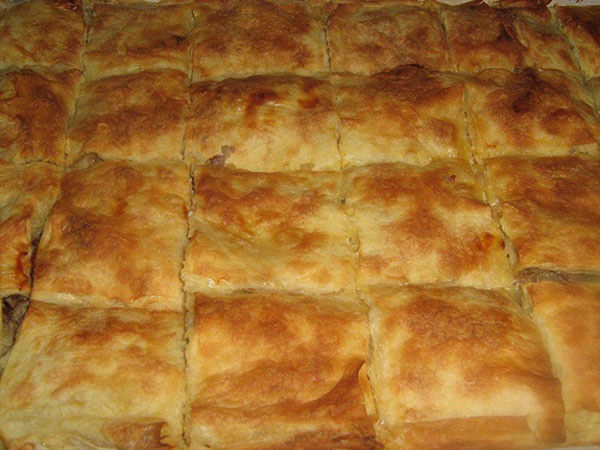 Börek mit Hähnchen - Tavuklu Börek