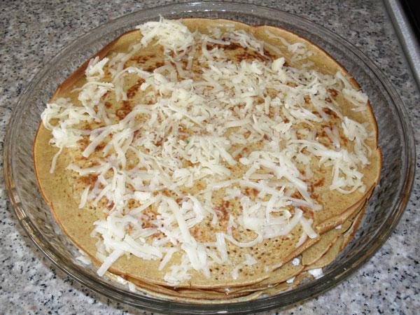 Gefüllte Crepes - Krep Börek
