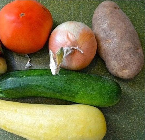 Gemüsen aus dem Ofen - Fırında Karışık Sebze