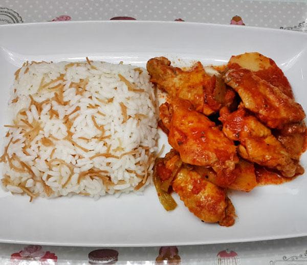 Hähnchenflügel mit Kartoffel - Patatesli Kanat