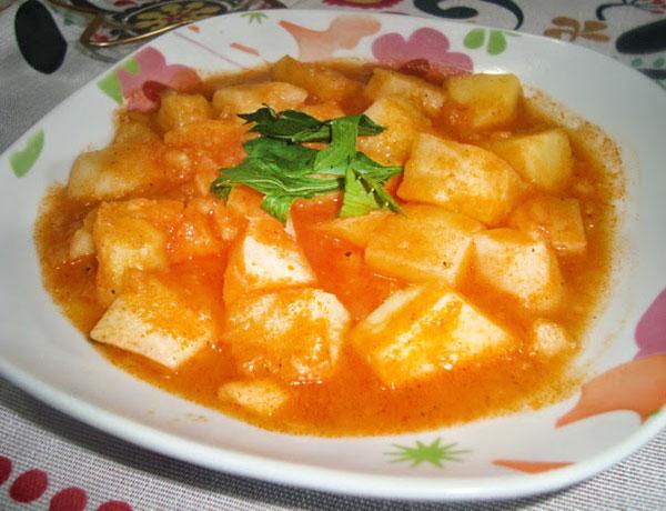 Sellerie mit Kartoffel - Patatesli Kereviz
