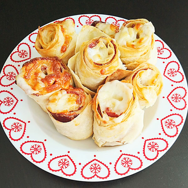 Börek mit Pastırma - Pastırmalı Gül Böreği