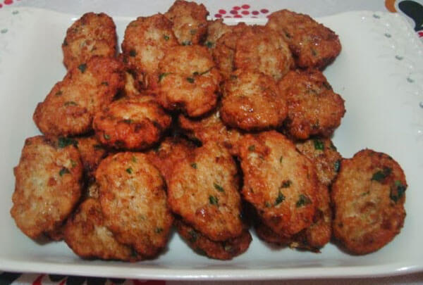 Geflügel Frikadellen - Tavuk Köftesi