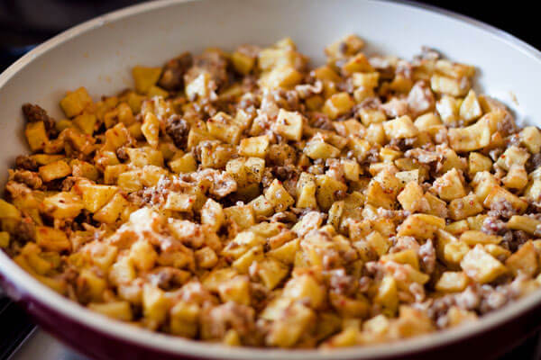 Kartoffel mit Hackfleisch - Pratik Kıymalı Patates