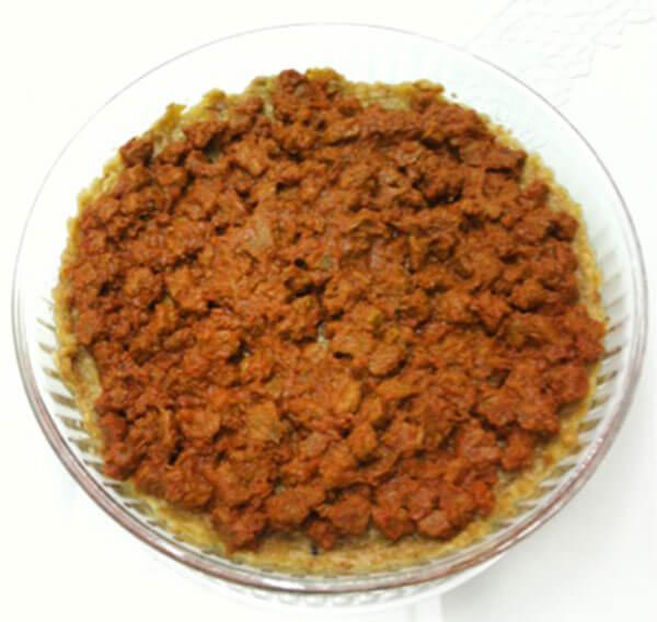 Türkischer Kebab - Gelelli Kebabı
