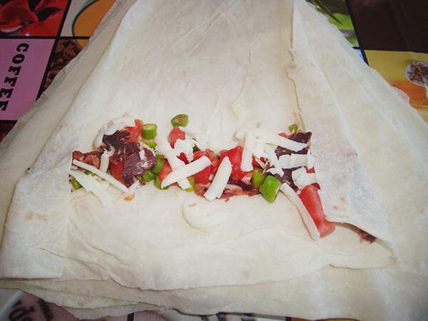 Zigarrenstrudel mit Pastırma - Pastırmalı Sigara Böreği