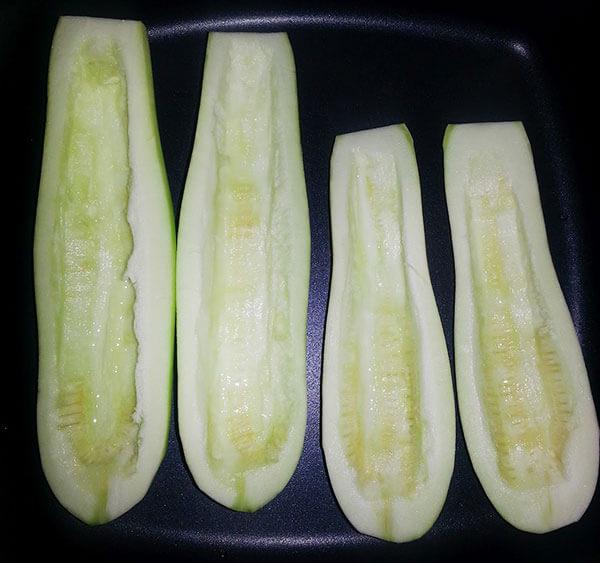 Zucchini mit Olivenöl - Zeytinyağlı Kabak