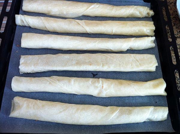Börek mit Hackfleisch - Kıymalı Rulo Börek