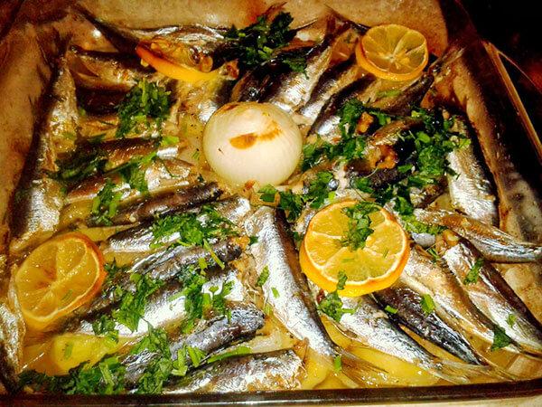 Photo of Sardinen mit Kartoffeln aus dem Ofen