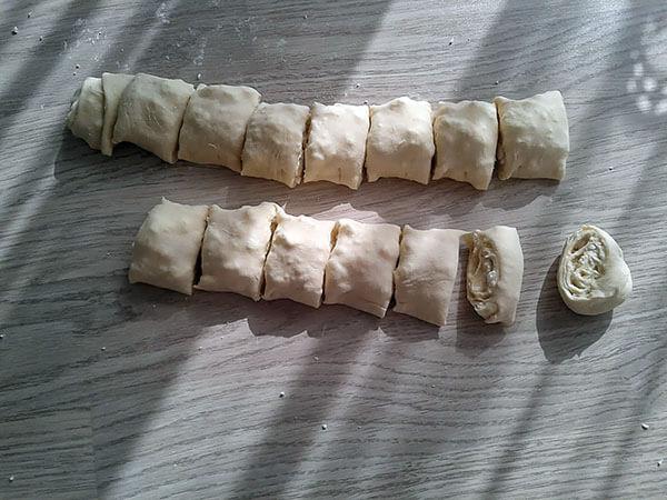 Börek mit Käse - Peynirli Gül Böreği