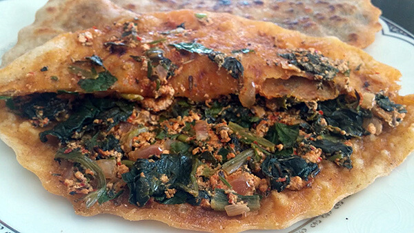 Börek mit Spinat - Ispanaklı Çiğ Börek