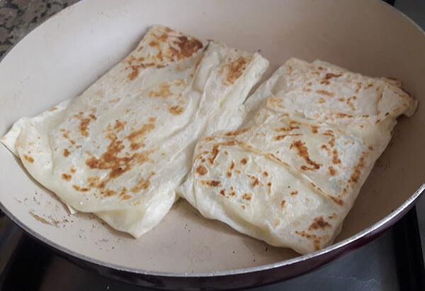 Pfannkuchen mit Käse - Peynirli Gözleme