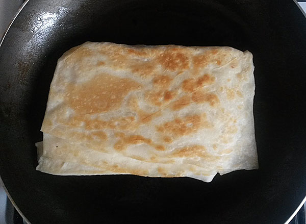Pfannkuchen mit Champignons - Mantarlı Gözleme