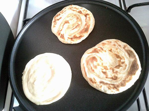 Türkische Brote - Yağlı Katmer