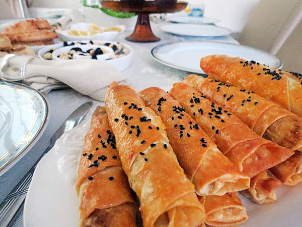 Börek mit Champignons - Mantarlı Börek