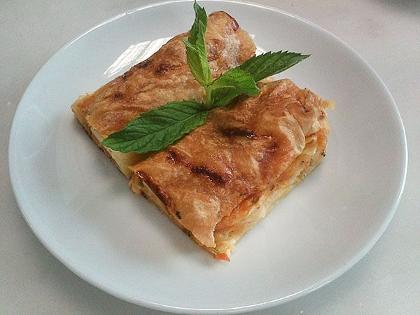 Photo of Börek mit Kartoffel – Patatesli Kol Böreği