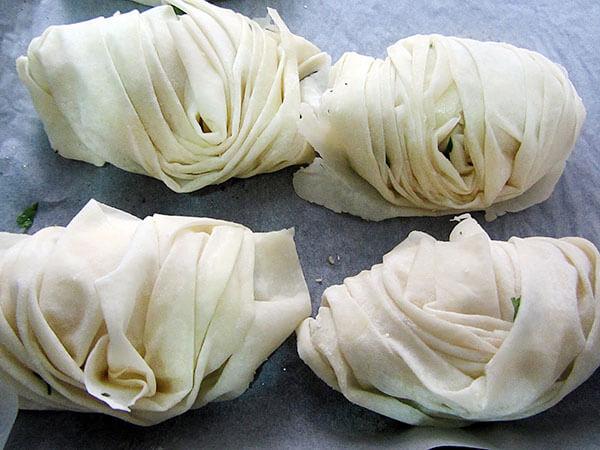 Börek mit Käse - Peynirli Midye Börek
