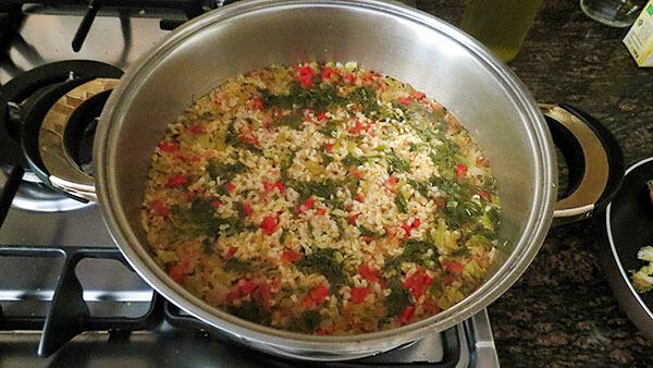 Bulgur mit Gemüse - Sebzeli Bulgur Pilavı