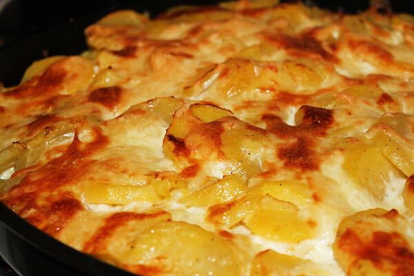Kartoffel Gratin - Patates Graten