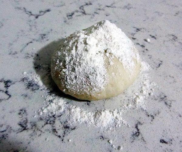 Pfannkuchen mit Mangold und Käse - Pazılı Peynirli Gözleme