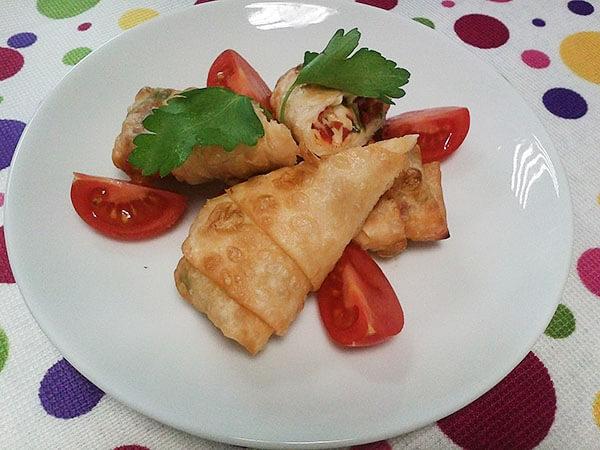 Türkische Teigtaschen - Paçanga Böreği