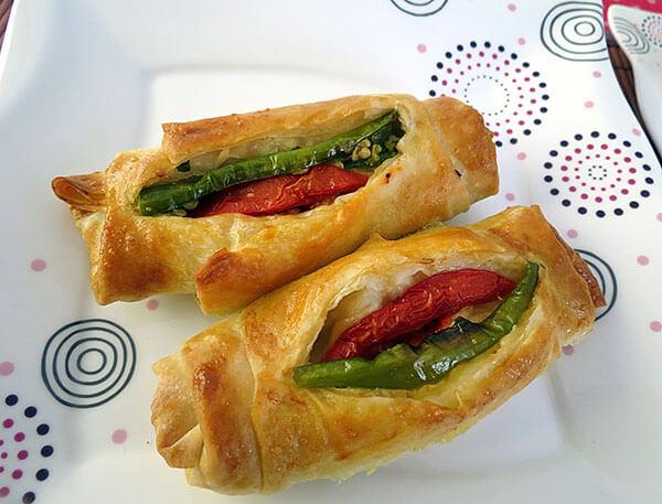 Türkischer Börek - Karnıyarık Börek
