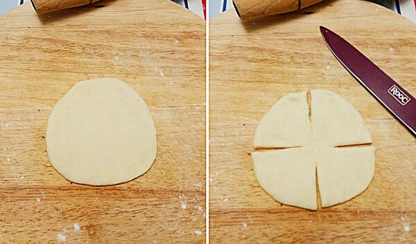 Börek mit Käse (Rosenform) - Peynirli Gül Poğaça