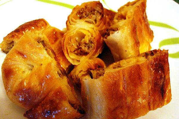 Photo of Börek mit Porree – Kıymalı Pırasalı Börek