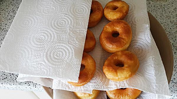 Frittierte Teigstücke - Yuvarlak Pişi