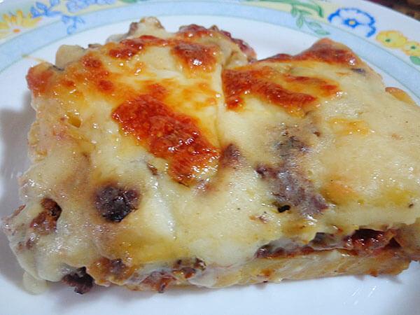 Champignons mit Kartoffel - Mantarlı Patates