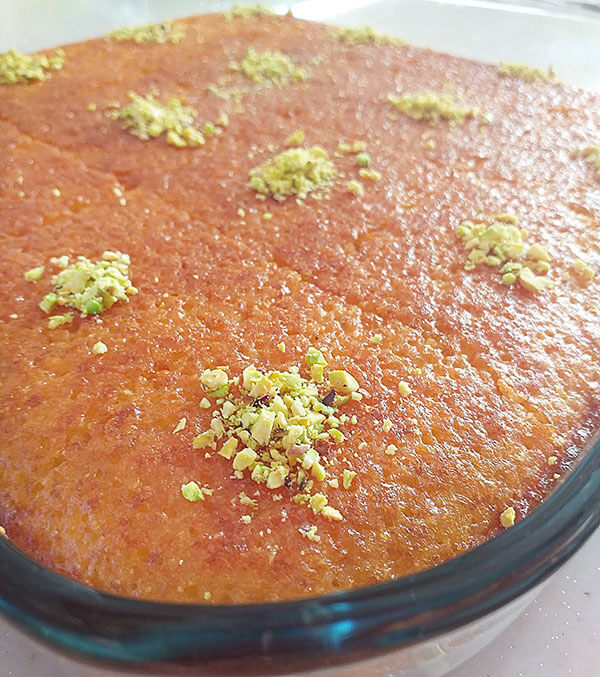 Türkischer Grießkuchen - Revani Rezept