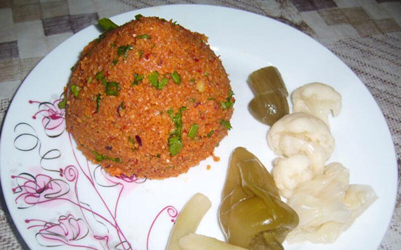Bulgursalat Türkisch Kısır Rezept