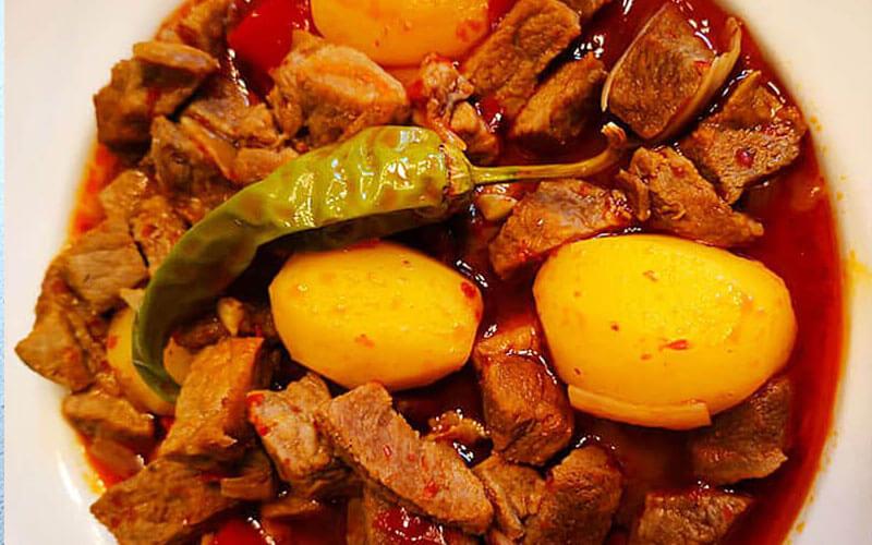 Fleischeintopf Tas Kebabı Türkische Rezepte