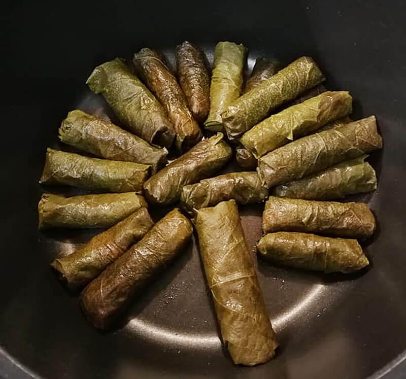 Gefüllte Weinblätter Rezept Türkisch
