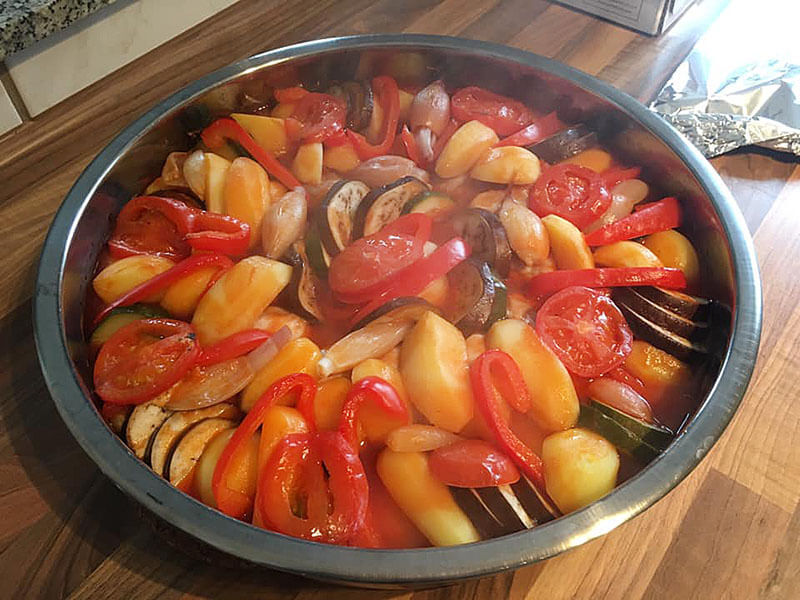 Photo of Hähnchen aus dem Ofen – Fırında Kolay Tavuk
