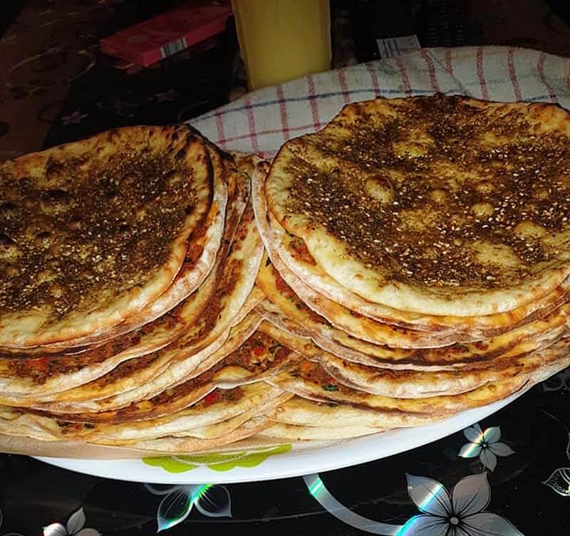 Lahmacun - Rezept für türkische Pizza