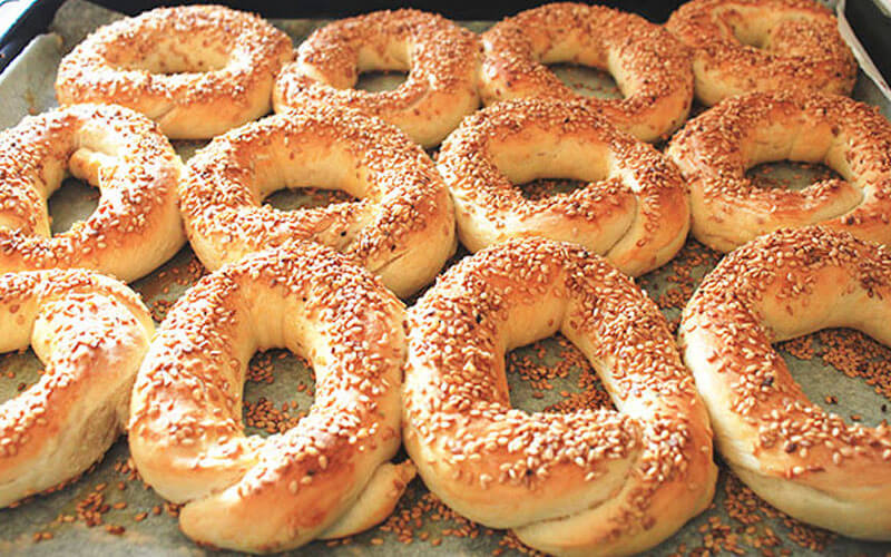 Türkische Sesamringe Simit Rezept