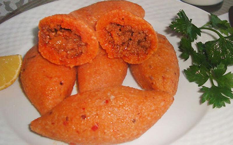 Türkische Kebbe İçli Köfte Rezept