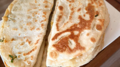Photo of Gözleme mit Spinat Rezept