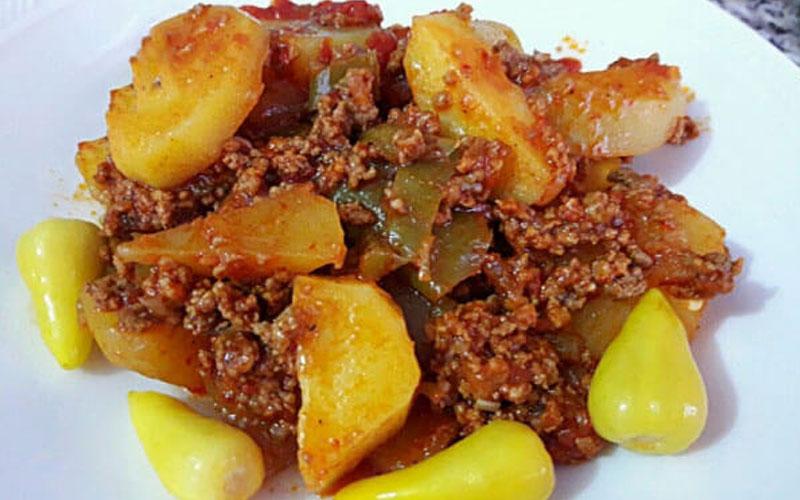Türkische Rezepte mit Hackfleisch und Kartoffeln